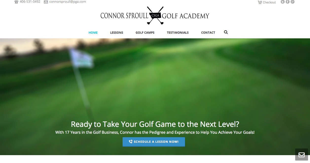 The Connor Sproull Golf Academy